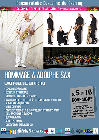 Hommage à Adolphe Sax