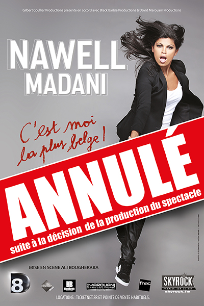 Annulation spectacle Nawell Madani