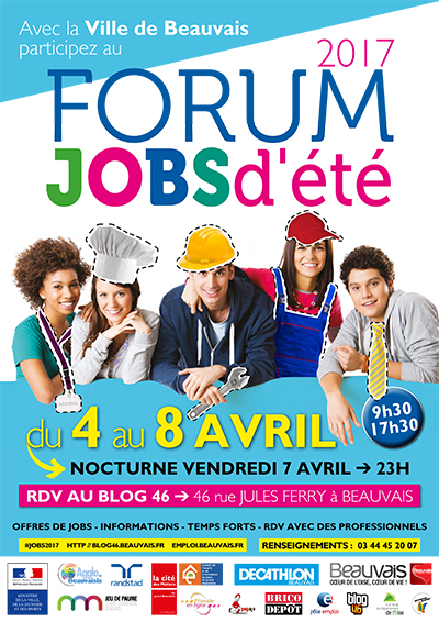 Forum Jobs d'été 2017