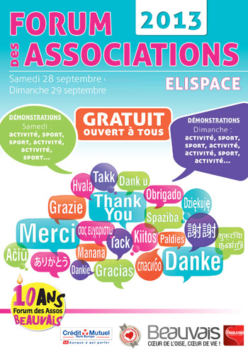 Forum des associations 2013 - Beauvais
