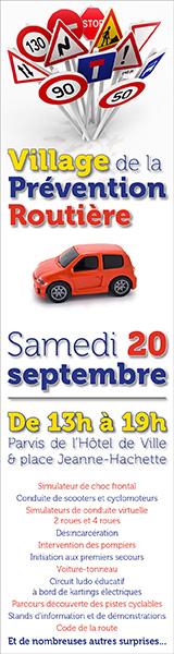 Village de la prévention routière samedi 16 septembre