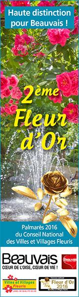 Une deuxième fleur d'Or pour Beauvais
