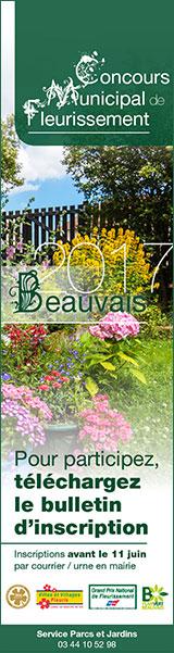 Concours municipal de fleurissement 2017