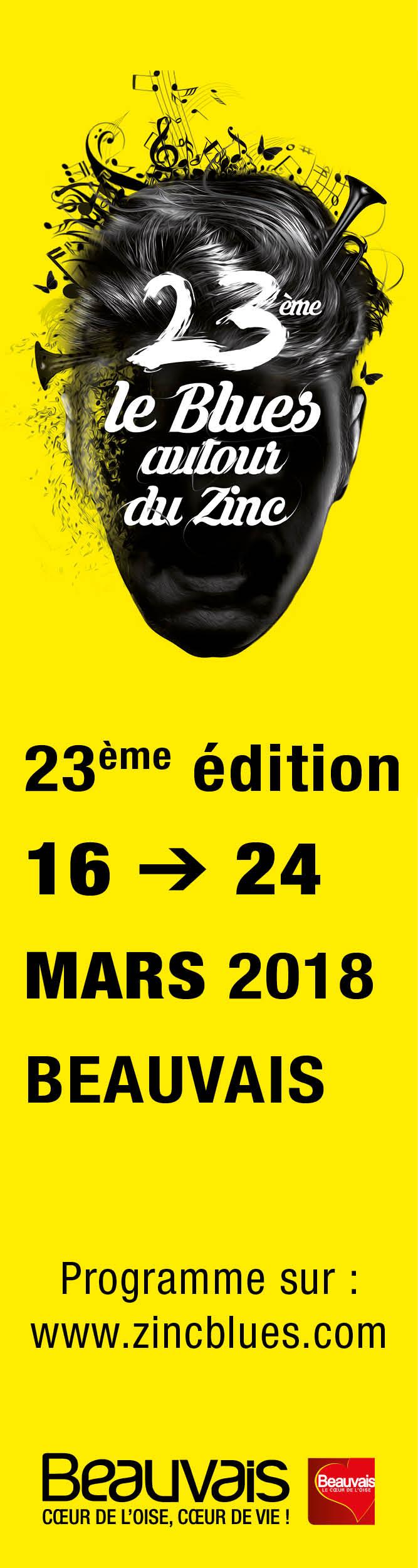23ème édition du festival Le Blues autour du Zinc
