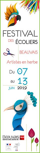 Le festival des écoliers - du 6 au 13 juin 2019