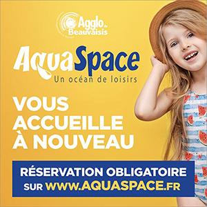 L'Aquaspace vous accueille à nouveau