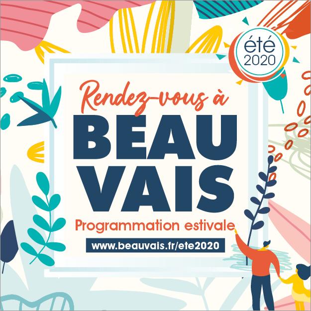 Rendez-vous à Beauvais - Programmation estivale été 2020