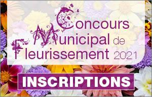 Concours fleurissement municipal 2021