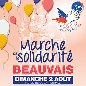 Marche solidarité Secours populaire