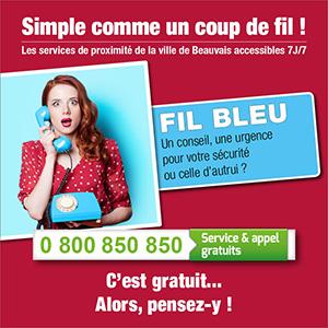Fil bleu - Beauvais