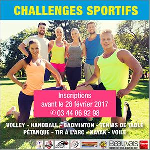 Challenges sportifs 2017