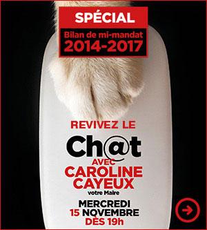 Ch@t avec Caroline Cayeux