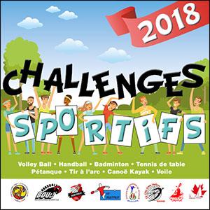 Challenges sportifs 2018