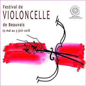 Festival de Violoncelle de Beauvais - du 25 au 1er juin 2018