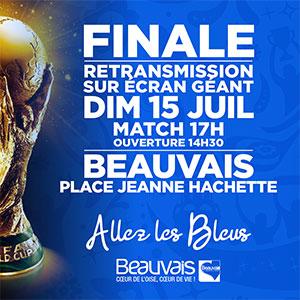 Ecran géant Finale de la coupe du monde