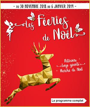 Féeries de Noël 2018 à Beauvais