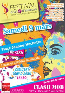 Festival d'ici et d'ailleurs samedi 9 mars 2013 à Beauvais (60000)